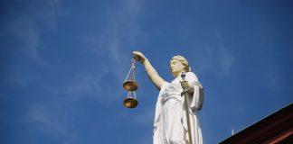 Justitia auf dem bundesgerichtshof