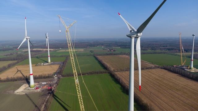 Windkraftanlage Schermbeck Lühlerheim