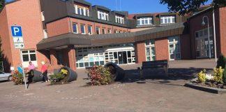 Vandalismus am Rathaus Schermbeck