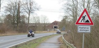 Fahrradweg Maassenstraße