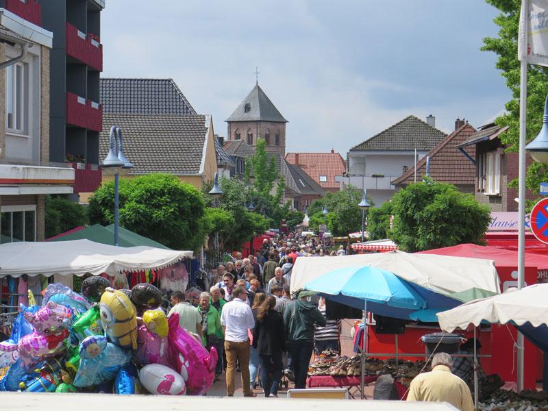 Sommerstraßenfest Schermbeck