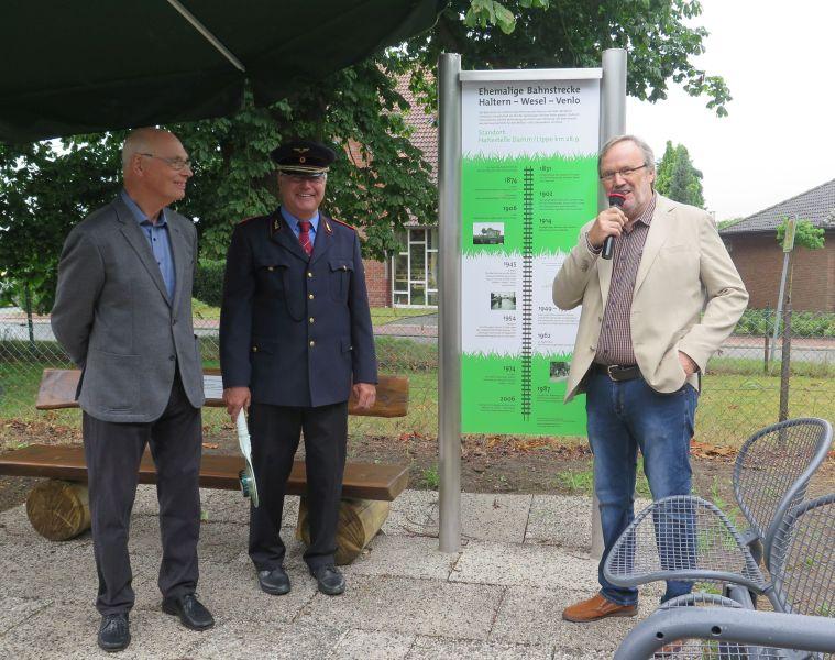 Erinnerung an den ehemaligen Dammer Bahnhof