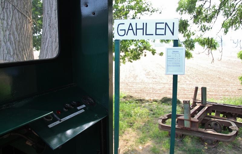 Schermbecker Feldbahn in der Aap rollt wieder