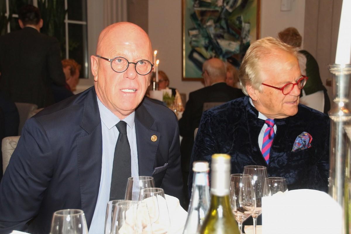 Helmut Ackmann und Justus Frantz