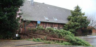 Sturmschaden Schermbeck Frederike