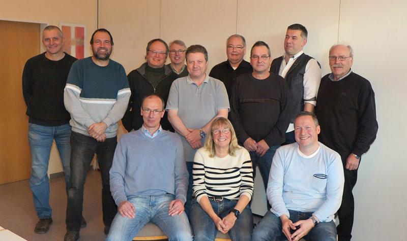 Mitglieder des Gahlener Bürgerforum