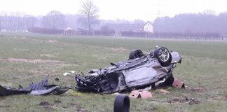 Unfall Voerde B58