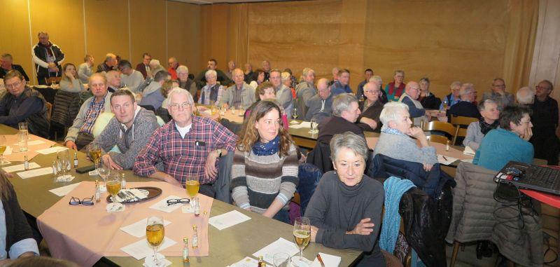 Gahlen beteiligten sich an der Jahreshauptversammlung