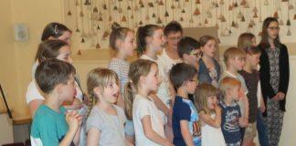 Löffelkönigin Kinderchor Gahlen