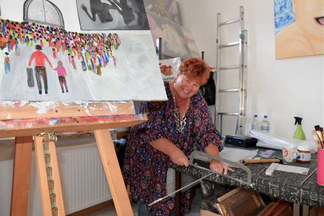 Freischaffende Künstlerin im ARTelier 4