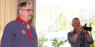 Durch das Programm führte der Vereinsvorsitzende Jürgen Höchst