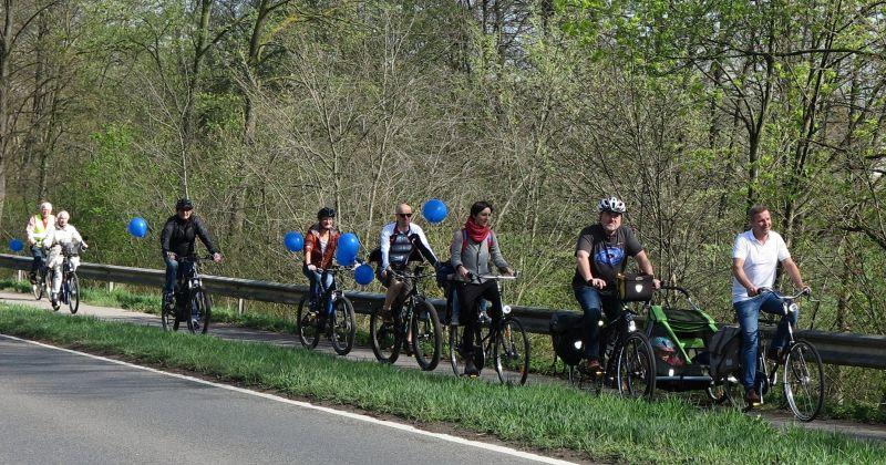 Gemütliche Radtour bei Schermbeck rundum