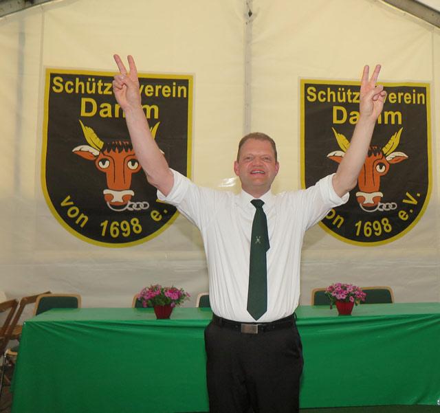 Frank Schulte ist neuer König