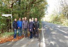 Charlotte Quik Radweg zwischen Gahlen und Kirchhellen