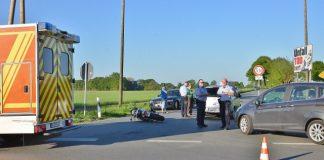 Motorradfahrer schwer verletzt Schermbeck-Marienthal