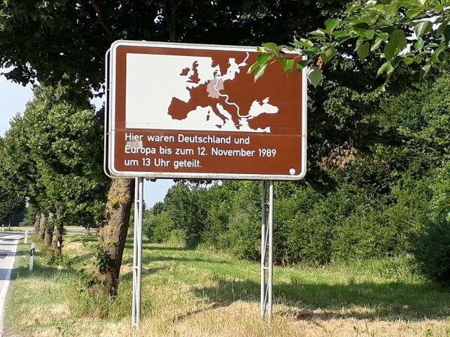 Über die alte innerdeutsche Grenze (