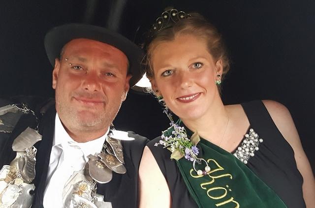 2017 Königspaar Björn u Stefanie