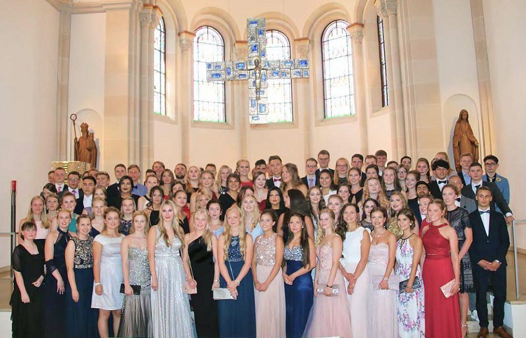 Abiturienten Gesamtschule Schermbeck 2018