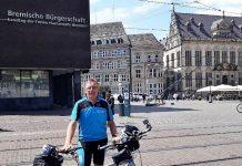 Landtag Bremen - Andreas Kock auf großer Deutschlandtour
