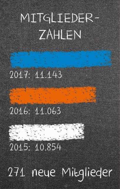 Bilanzen der Volksbank Schermbeck 2017
