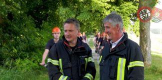 Ernst Christoph Grüter wirbt für die Feuerwehr Schermbeck-Imagefilm