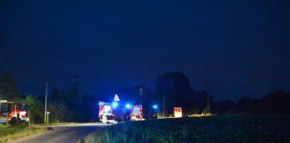 Grosseinsatz Feuerwehr Schermbeck in Damm