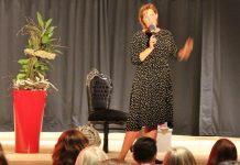 Nicole Staudinger ihr Buch Schlagfertigkeitsqueen