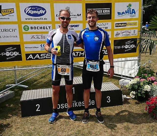 Müller und Schult gut in Form beim 31. Aasee-Triathlon in Bocholt