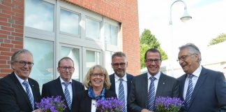 Vorstand und Aufsichtsrat Volksbank Schermbeck