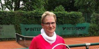 das Halbfinalspiel Inge Lütsch-Becker