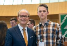 Charlotte Quik CDU lud zum Jugend-Landtag ein