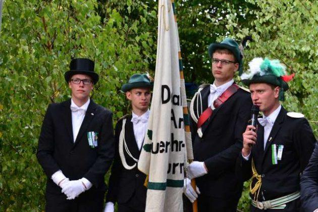 Bei den Fähnchenschützen in Buschhausen 2018