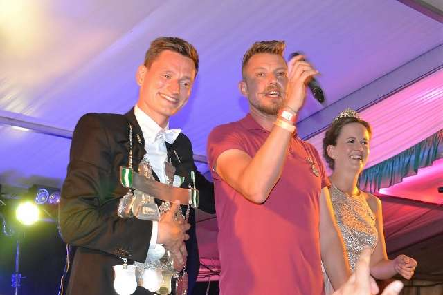 Michael Rittman beim Schützenfest Altschermbeck