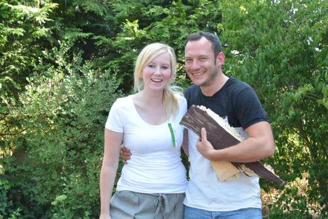 König René Kemper und Königin Miriam Dräger