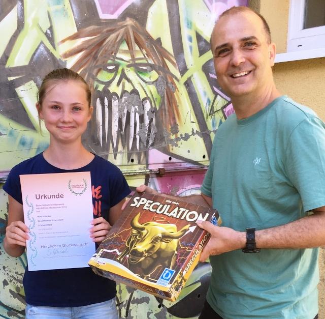 Gesamtschule Schermbeck gewinnt Heureka-Wettbewerb