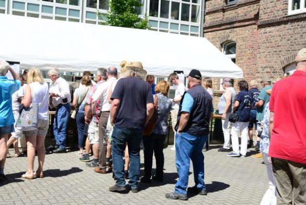 Oldtimerfreunde Schermbeck am Lühlerheim 2018