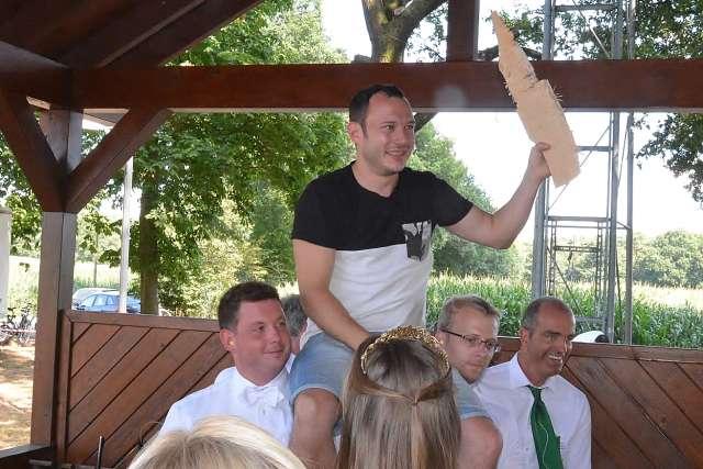 Bernd Kemper ist der neue König der Kiliangilde Altschermbeck-Schützenfest 2018