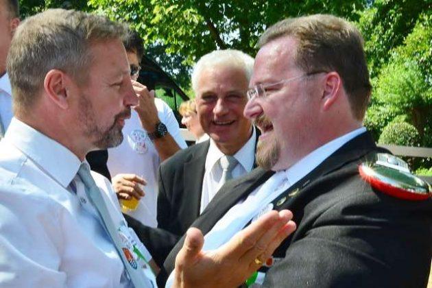 Gratulation von Bürgermeister Rexforth