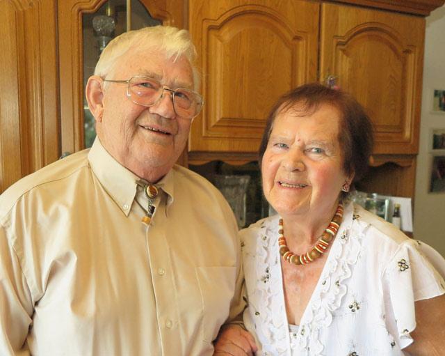 Heinz und Gertrud Schmidt aus Schermbeck