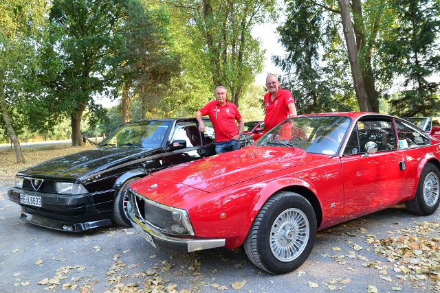 Alfa-Club machte Ausflug nach Gahlen
