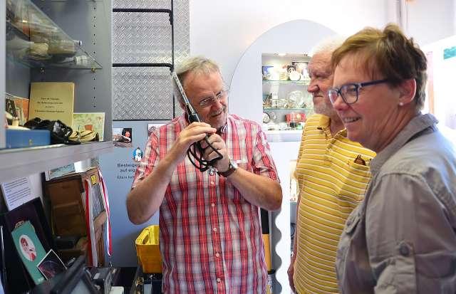 Hochspannung im Strommuseum Schermbeck Damm