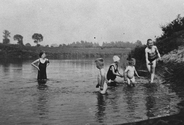 Gahlener Badespaß vor 90 Jahren