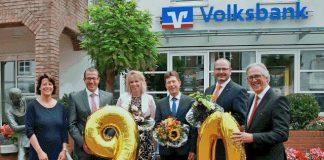 Jubilare Volksbank Schermbeck