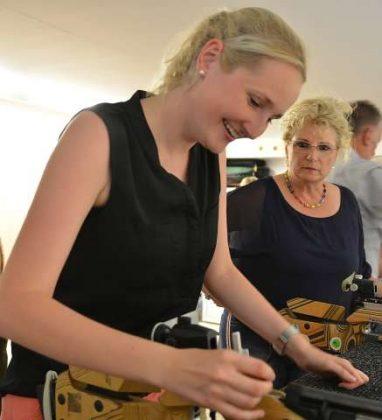 Manuela Gaffke ist die erste KFD-Königin in Schermbeck