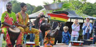 Schermbeck Das Afrika-Fest Ngoma- Afrika am Niederrhein.