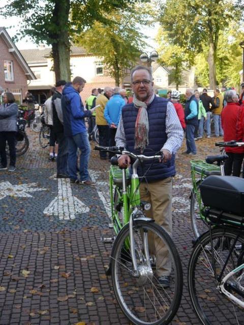 Radtour mit Landrat Dr. Ansgar Müller