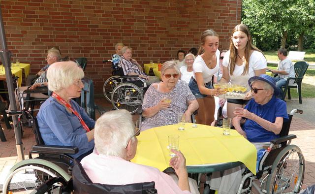 Senioren des Marienheims Schermbeck