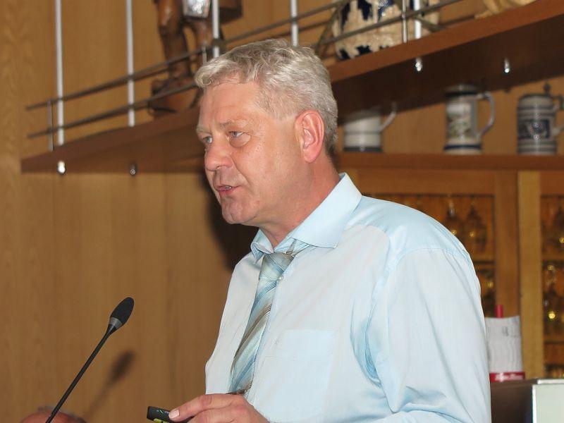 Kreis-Vorstandsmitglied Helmut Czichy