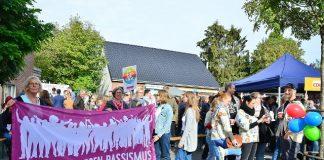 CDU Ortsverband Infostand gegen Rechts