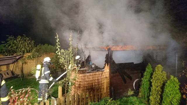 Polizei ermittelt nach Hüttenbrand in Schermbeck